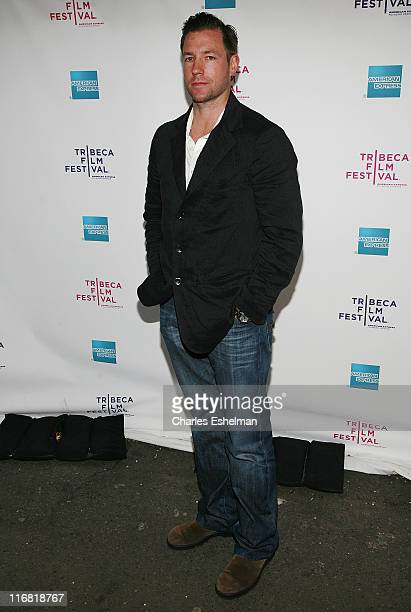 Actor/director Ed Burns arrives at the premiere of A Powerful Noise at The 2008 Tribeca Film Festival at Village East Cinemas on April 30 2008 in New...
