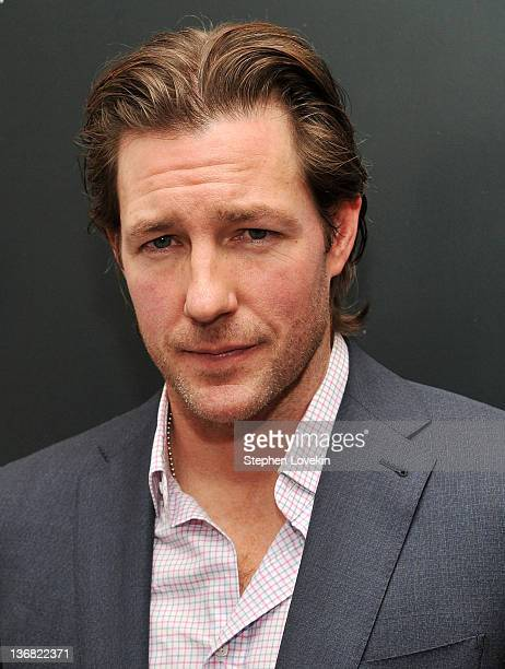 Actor/director Ed Burns attends the premiere of Newlyweds at the Crosby Street Hotel on January 11 2012 in New York City