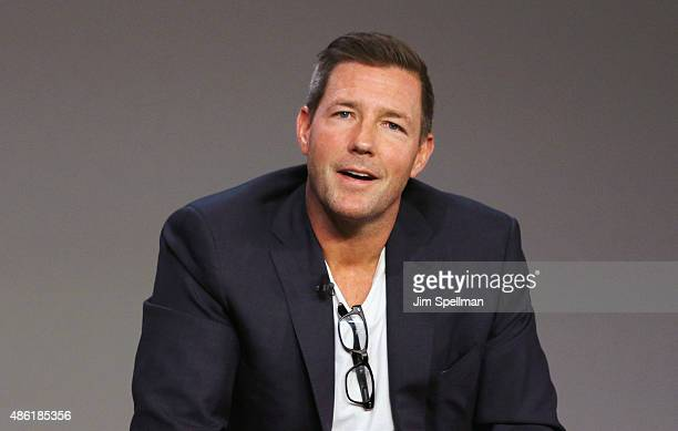 Actor/director Edward Burns attends Apple Store Soho presents Meet The Creator Public Morals at Apple Store Soho on September 1 2015 in New York City