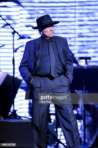 Actor/director Edward James Olmos onstage at the Center Theatre Group 50th Anniversary Celebration at Ahmanson Theatre on May 20 2017 in Los Angeles...