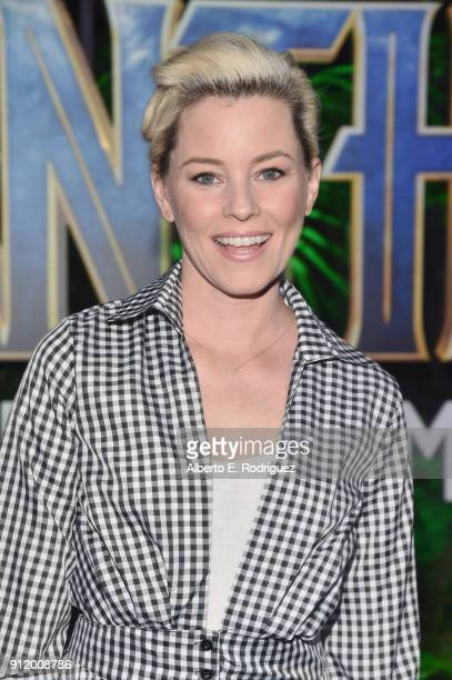 Actor/director Elizabeth Banks at the Los Angeles World Premiere of Marvel Studios' BLACK PANTHER at Dolby Theatre on January 29 2018 in Hollywood...