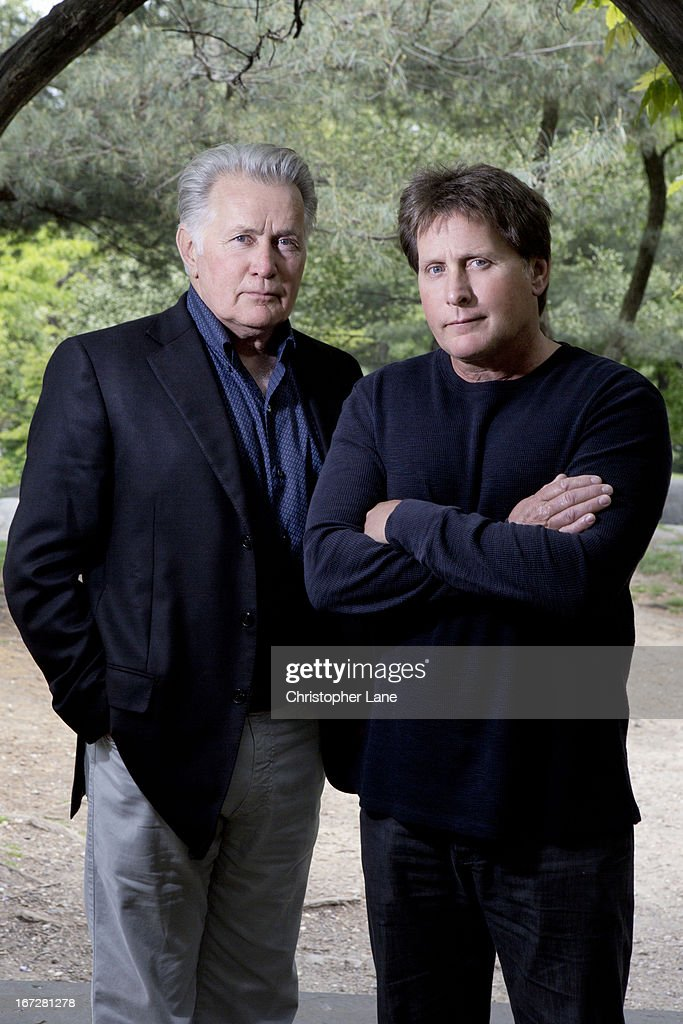 Emilio Estevez and Martin Sheen, The London Times, May 12, 2012