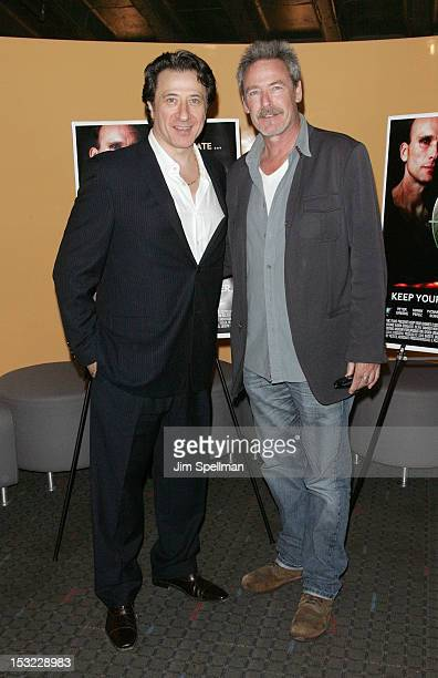 Actor/director Federico Castelluccio and actor James McCaffrey attend the 'Keep Your Enemies Closer Checkmate' screening at the School of Visual Arts...