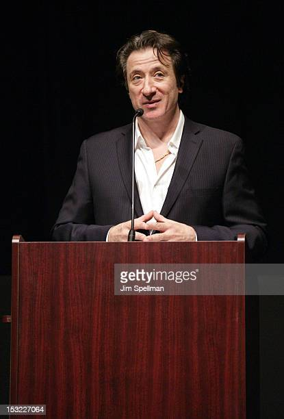 Actor/director Federico Castelluccio attends the 'Keep Your Enemies Closer Checkmate' screening at the School of Visual Arts Theater on October 1...