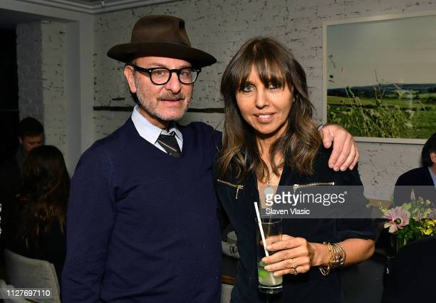 Actor/director Fisher Stevens and executive producer Henrietta Conrad attend after party for NY premiere of HBO's The Case Against Adnan Syed at...