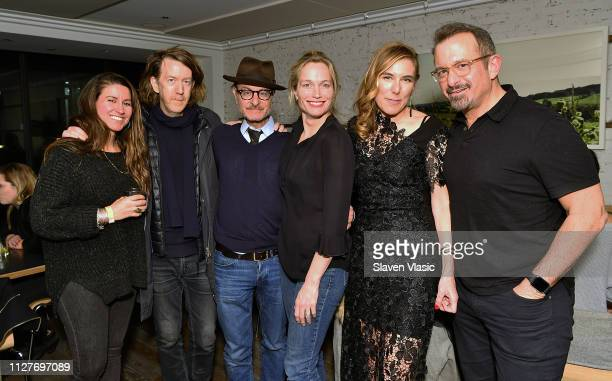 Actor/director Fisher Stevens filmmaker Alexis Bloom director/executive producer Amy Berg and guests attend after party for NY premiere of HBO's The...