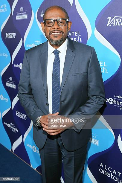 Actor/director Forest Whitaker attends the 2nd Annual unite4humanity presented by ALCATEL ONETOUCH at the Beverly Hilton Hotel on February 19 2015 in...