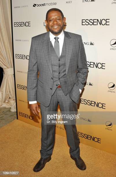 Actor/director Forrest Whitaker arrives at the 4th Annual ESSENCE Black Women in Hollywood Luncheon at Beverly Hills Hotel on February 24, 2011 in...