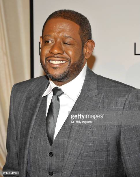 Actor/director Forrest Whitaker arrives at the 4th Annual ESSENCE Black Women in Hollywood Luncheon at Beverly Hills Hotel on February 24 2011 in...