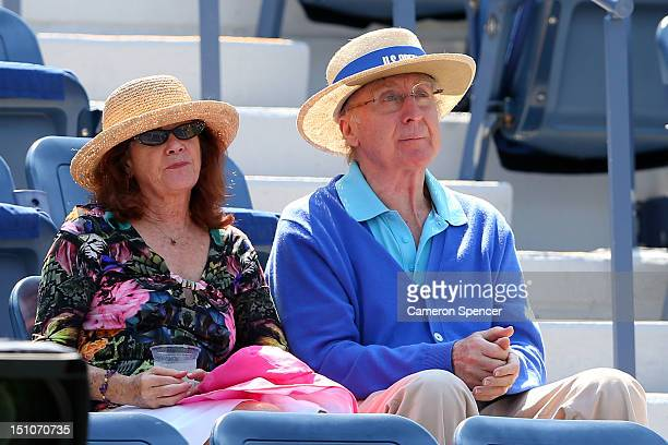 Actor/director Gene Wilder attends Day Five of the 2012 US Open at USTA Billie Jean King National Tennis Center on August 31 2012 in the Flushing...