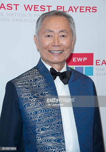 Actor/director George Takei attends the East West Players 50th Anniversary Visionary Awards Dinner and Silent Auction at the Hilton Universal City on...