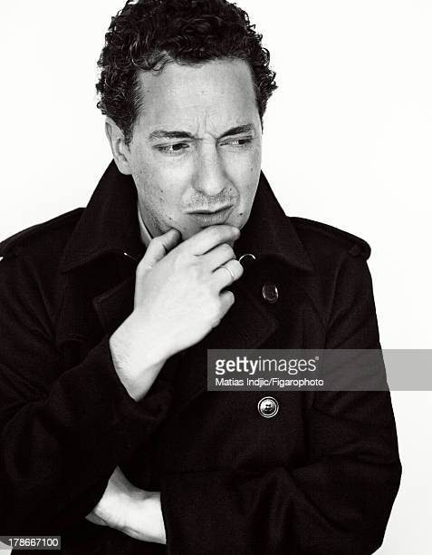 107274008 Actor/director Guillaume Gallienne is photographed for Madame Figaro on July 24 2013 in Paris France Coat and shirt PUBLISHED IMAGE CREDIT...