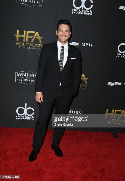 Actor/director James Franco attends the 21st Annual Hollywood Film Awards at The Beverly Hilton Hotel on November 5 2017 in Beverly Hills California