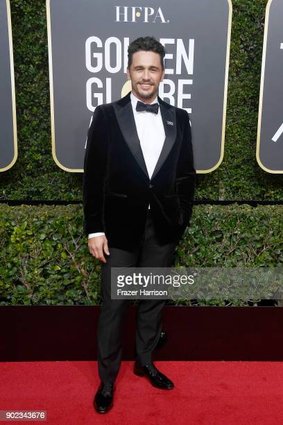 Actor/director James Franco attends The 75th Annual Golden Globe Awards at The Beverly Hilton Hotel on January 7 2018 in Beverly Hills California