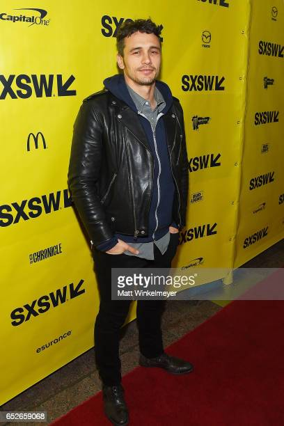 Actor/director James Franco attends 'The Disaster Artist' premiere 2017 SXSW Conference and Festivals on March 12 2017 in Austin Texas