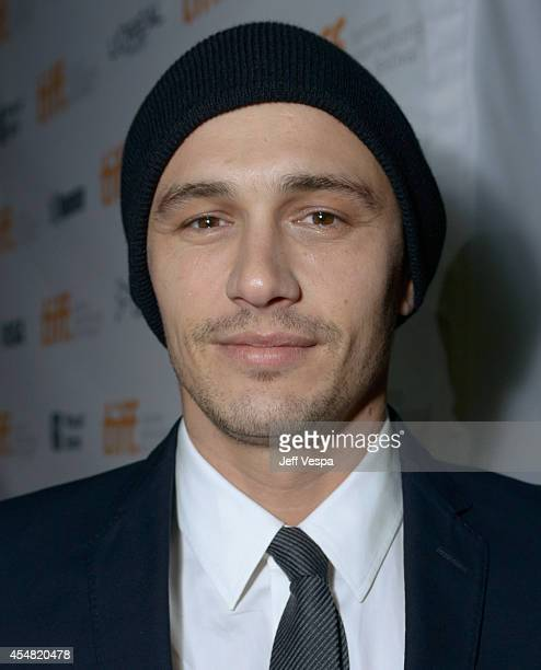 Actor/director James Franco attends The Sound And The Fury premiere during the 2014 Toronto International Film Festival at Ryerson Theatre on...