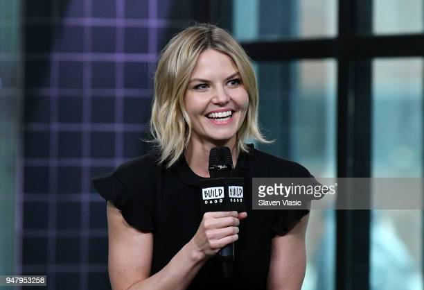 Actor/director Jennifer Morrison visits Build Series to discuss her film 'Sun Dogs' at Build Studio on April 17 2018 in New York City