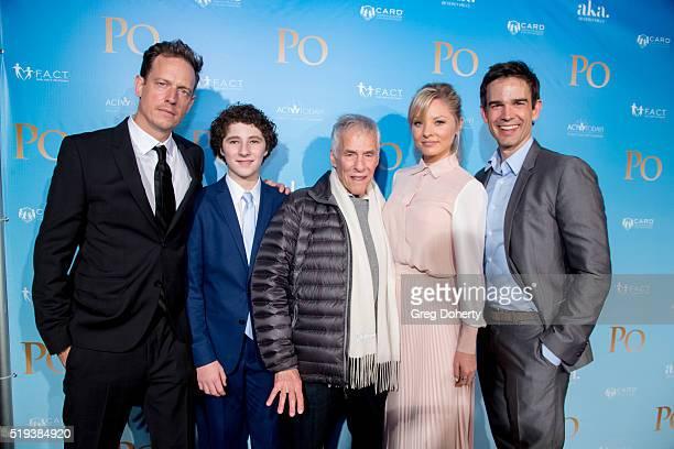 Actor/Director John Asher Actor Julian Feder Composer Burt Bacharach Actress Kaitlin Doubleday and Actor Christopher Gorham arrive for the screening...