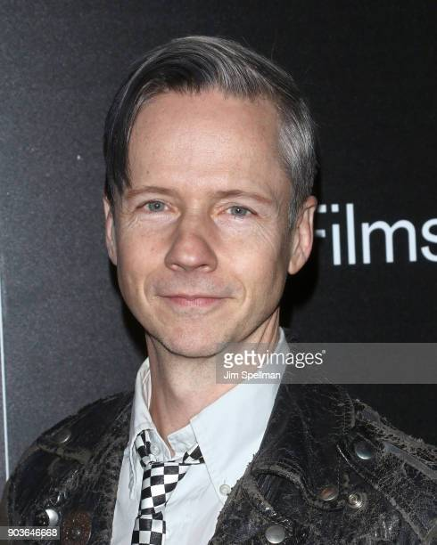 Actor/director John Cameron Mitchell attends the premiere of IFC Films' 'Freak Show' hosted by The Cinema Society and Bluemercury at Landmark...