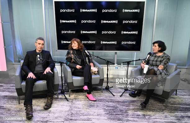 Actor/director John Turturro and actress Susan Sarandon talk to host Jessica Shaw about crime comedy film The Jesus Rolls at EW channel at SiriusXM...