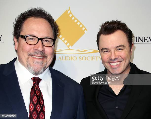 Actor/director Jon Favreau and actor/writer/director Seth MacFarlane attend the 53rd Annual Cinema Audio Society Awards at Omni Los Angeles Hotel at...