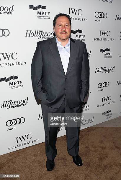 Actor/director Jon Favreau arrives at The Motion Picture Television Fund Presentation of Reel Stories Real Lives at Milk Studios on October 20 2012...