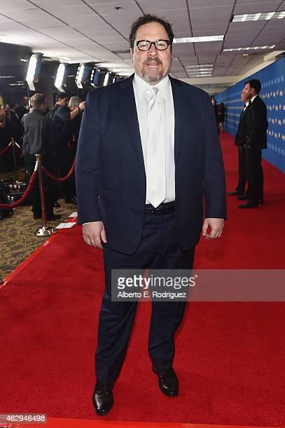 Actor/director Jon Favreau attends the 67th Annual Directors Guild Of America Awards at the Hyatt Regency Century Plaza on February 7 2015 in Century...