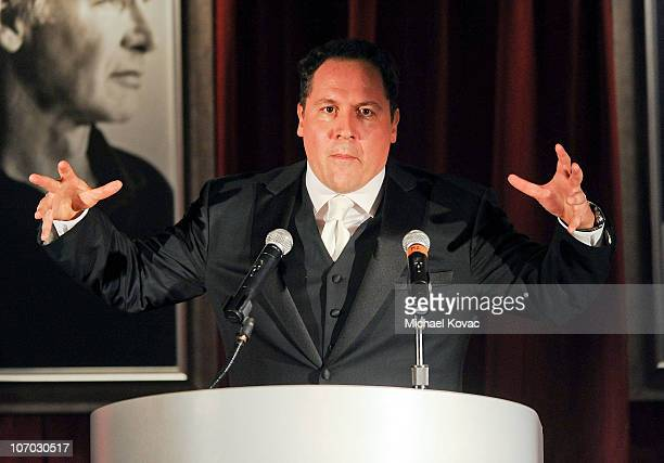 Actor/director Jon Favreau presents at SBIFF's 5th Annual Kirk Douglas Award For Excellence In Film Ceremony at The Four Seasons Biltmore on November...