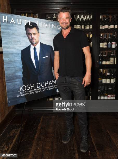 Actor/Director Josh Duhamel attends Haute Living Celebrates Josh Duhamel Presented By Westime at AOC on May 19 2017 in Los Angeles California
