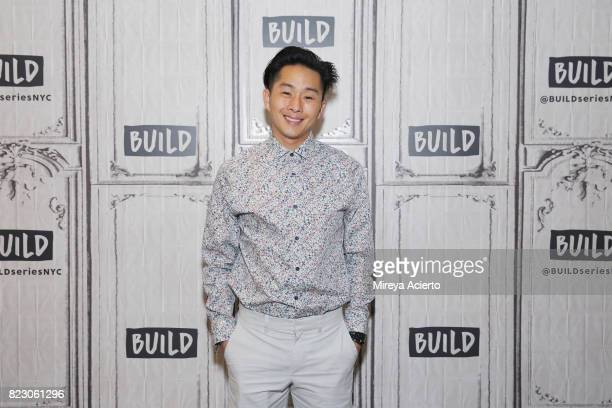 Actor/director Justin Chon visits Build to discuss the new film Gook at Build Studio on July 26 2017 in New York City