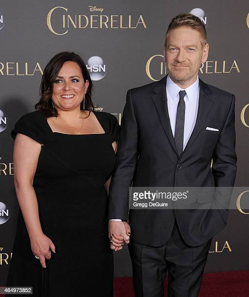 """Actor/director Kenneth Branagh and wife Lindsay Brunnock arrive at the World Premiere of Disney's """"Cinderella"""" at the El Capitan Theatre on March 1,..."""