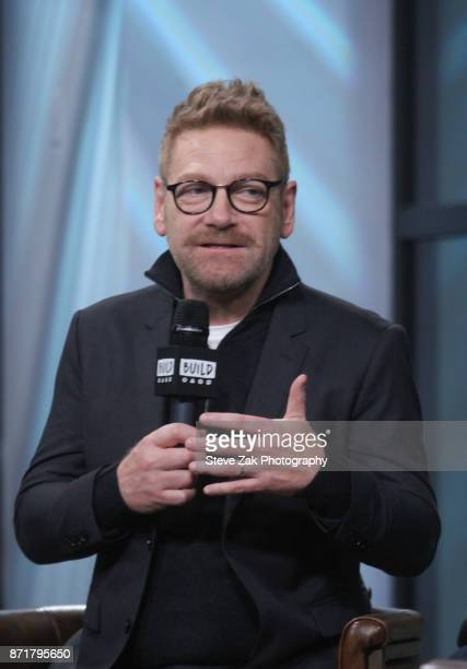"""Actor/Director Kenneth Branagh attends Build Series to discuss """"Murder on the Orient Express"""" at Build Studio on November 8, 2017 in New York City."""