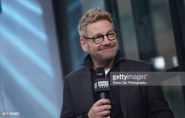 Actor/Director Kenneth Branagh attends Build Series to discuss 'Murder on the Orient Express' at Build Studio on November 8 2017 in New York City
