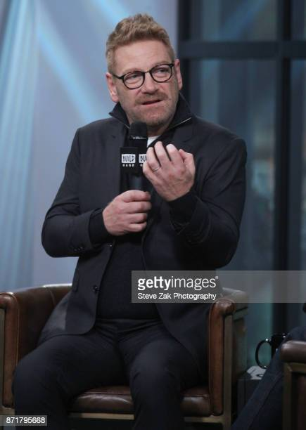 Actor/Director Kenneth Branagh attends Build Series to discuss Murder on the Orient Express at Build Studio on November 8 2017 in New York City