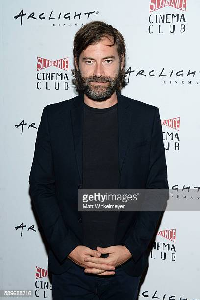 Actor/director Mark Duplass attends the screening of Caterpillar Event Productions' Mad at ArcLight Hollywood on August 14 2016 in Hollywood...