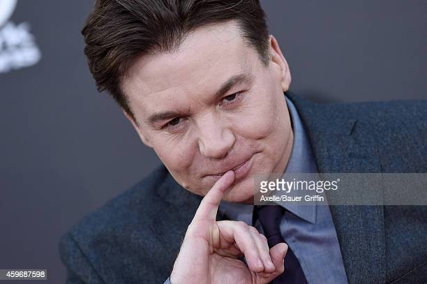 Actor/director Mike Myers arrives at the 18th Annual Hollywood Film Awards at The Palladium on November 14 2014 in Hollywood California