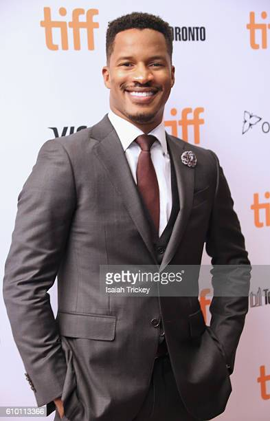 Actor/director Nate Parker attends the 2016 Toronto International Film Festival premiere of 'The Birth Of A Nation' Premiere at Winter Garden Theatre...