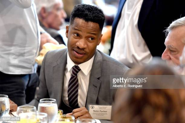 Actor/director Nate Parker attends the 69th Annual Directors Guild Of America Awards Feature Film Symposium at Directors Guild of America on February...