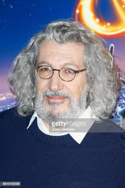 Actor/Director of the movie Alain Chabat attends 'Santa Cie' Paris Premiere at Cinema Pathe Beaugrenelle on December 3 2017 in Paris France