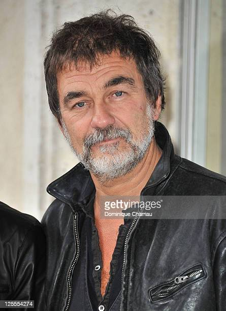 Actor/director Olivier Marchal poses at photocall for 'Le Fils a Joe' at Hotel Renoir during the Festival of Sarlat on November 10 2010 in Sarlat...