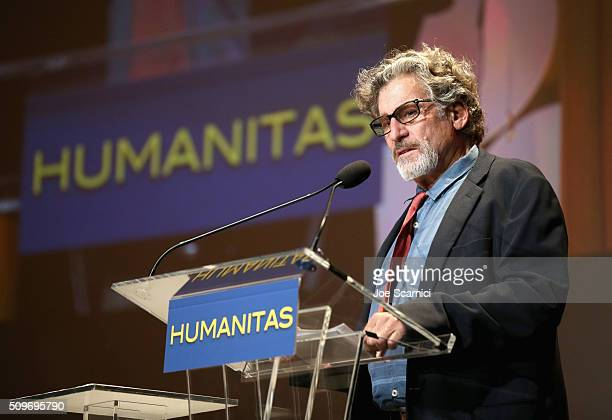 Actor/Director Paul Michael Glaser speaks onstage during the 41st Humanitas Prize Awards Ceremony at Directors Guild Of America on February 11 2016...