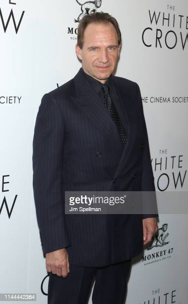 """Actor/director Ralph Fiennes attends the screening of Sony Pictures Classics' """"The White Crow"""" hosted by the The Cinema Society and Monkey 47 Gin at..."""