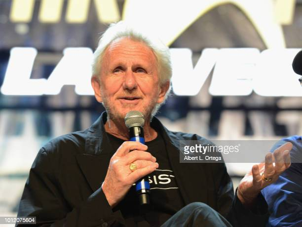 Actor/director Rene Auberjonois attends Day 4 of Creation Entertainment's 2018 Star Trek Convention Las Vegas at the Rio Hotel Casino on August 5...