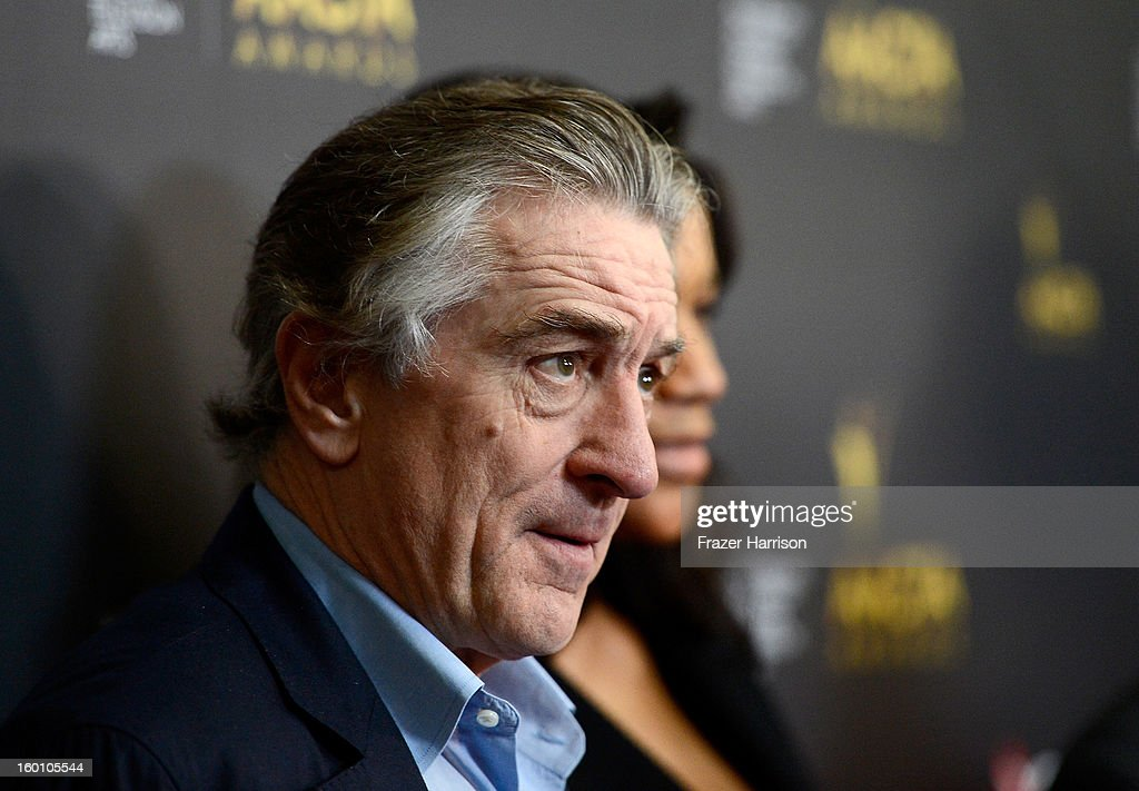 Actor/Director Robert De Niro arrives at the 2ND AACTA International Awards at Soho House on January 26, 2013 in West Hollywood, California.