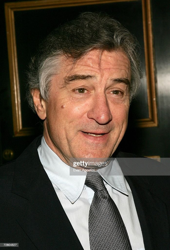 Actor/director Robert De Niro attend the World Premiere of 'The Good Shepherd' presented by Universal Pictures at the Ziegfeld Theatre on December 11, 2006 in New York City