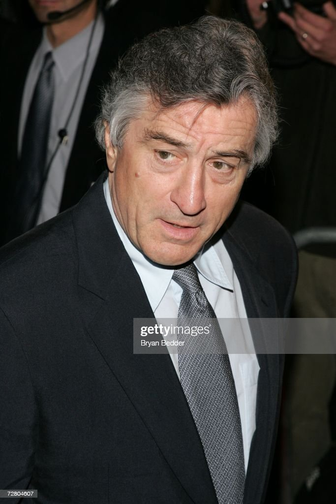 Actor/director Robert De Niro attends the World Premiere of 'The Good Shepherd' presented by Universal Pictures at the Ziegfeld Theatre on December 11, 2006 in New York City