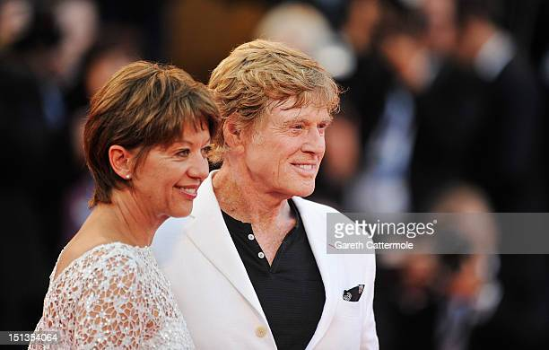 Actor/Director Robert Redford and his wife Sibylle Szaggars attend The Company You Keep Premiere at the 69th Venice Film Festival at the Palazzo del...