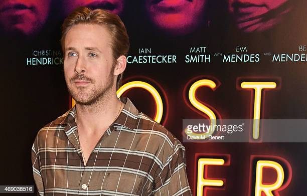 Actor/Director Ryan Gosling poses at a photocall for 'Lost River' at The London Edition Hotel on April 9 2015 in London England
