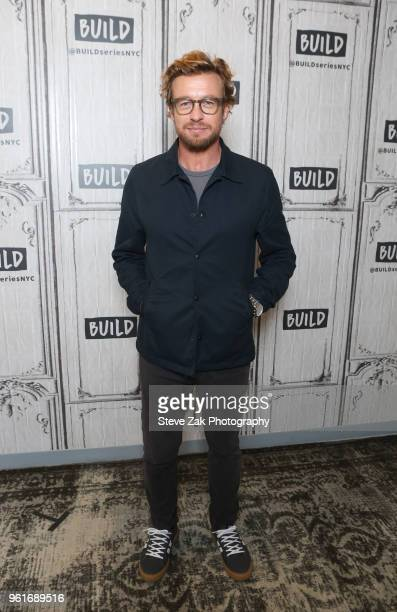 Actor/Director Simon Baker visits Build Series to discuss Breath at Build Studio on May 23 2018 in New York City