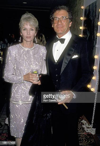 Actor/Director Sydney Pollack and wife Claire Griswold attend the 'Tel Aviv Gala Honoring Goldie Hawn' on January 27 1987 at Century Plaza Hotel in...